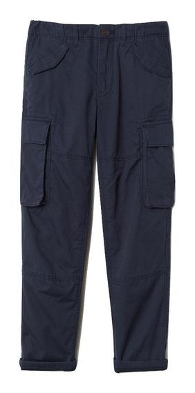 Pantalón Doble Forrado H&m Niño