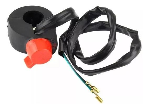 Punho Stop Interruptor Mata Motor Xlx 350 250 Xl R Nx Sahara