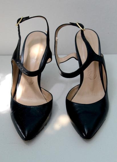 Zapatos Negros 3.5 Cm