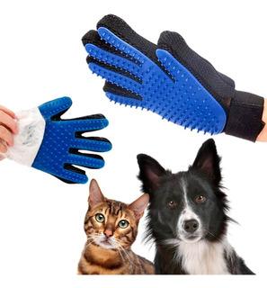 Guante De Silicona Masajeador Para Mascotas Perros Y Gatos