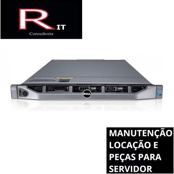 Servidor Dell R610 - 2 Sixcore - H700 - 96gb Ram