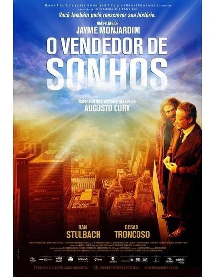 O Vendedor De Sonhos Livro Augusto Cury Romance - Capa Filme