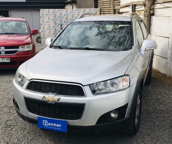 Chevrolet Captiva Lt Diesel 2013 Impecable Credito Directo