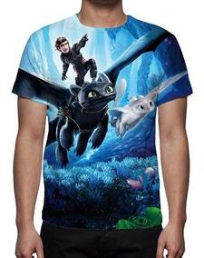 Camisa, Camiseta Como Treinar Seu Dragão 3 Mod 03 - Promoção