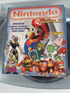 Lindo Álbum Completo Nintendo Com Pôster! Sebo Da Bidi