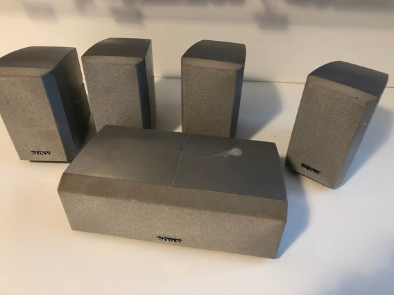 Home Teather Sony 5.1 Caixas Acústicas Ss-mp2 E Ss-cnp2