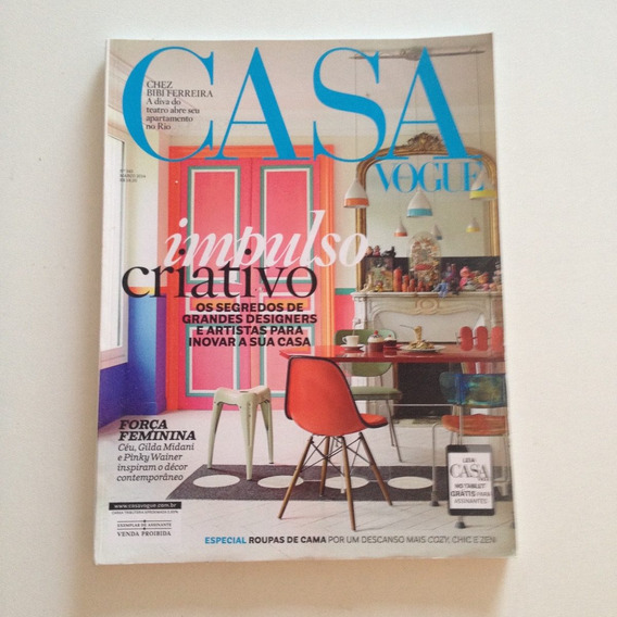 Revista Casa Vogue 343 3.2014 Impulso Criativo Designers C2