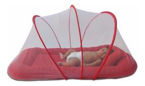 Mosquiteiro Berço Portátil Segunda Fase Babykinha Vermelho