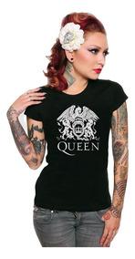 Playera Queen Rock Band Fredy Mercury Bohemian Rhapsody Dama