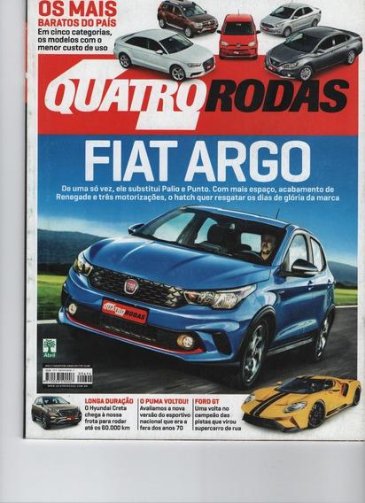 Revista Quatro Rodas N° 696 Junho 2017 Argo Baratos Puma Gt