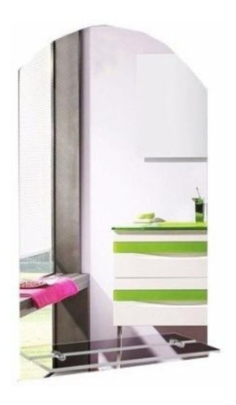Espejo Baño Vidrio Repisa Diseño Comedor Living Peinador