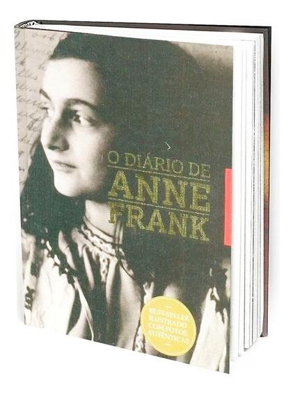 Diário De Anne Frank Best-seller Ilustrado Edição Capa Dura