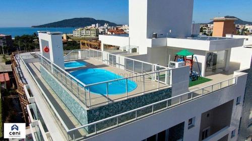 Apartamento Com 1 Dormitório Semi-mobiliado À Venda, 50 M² Por R$ 410.000 - Ingleses - Florianópolis/sc - Ap1860