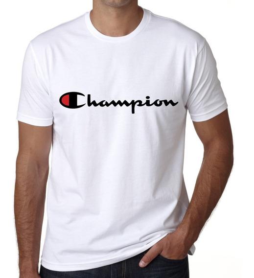 Playera Impresion Logo Champion Caballero Token