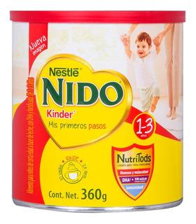 Fórmula para lactantes en polvo Nestlé Nido Kinder en lata de 360g