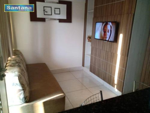 Apartamento Com 1 Dormitório À Venda, 28 M² Por R$ 150.000,00 - Jardins Diroma - Caldas Novas/go - Ap0693