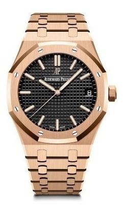 Relógio Eta - Mod Royal Oak 18k - Base Eta 2840. - Aço 904