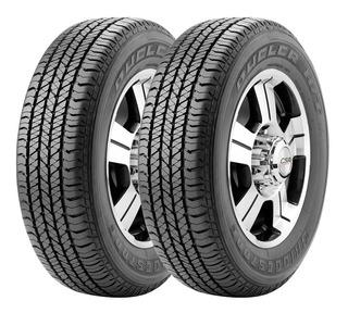 Kit X2 Bridgestone 265 65 R17 Dueler H/t 684 Ii Cuotas!