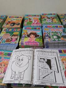 Lote Com 50 Revista De Colorir E Atividades(+ Barato)