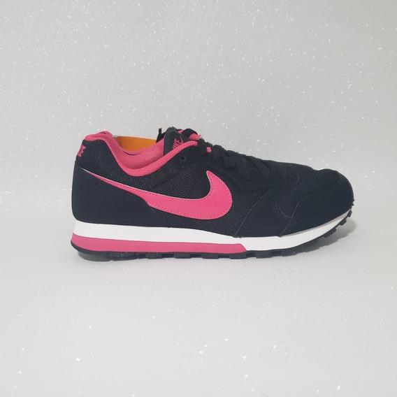 Nike Md Runner Tenis Feminino Casual Preto Original