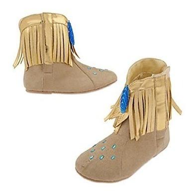 Pocahontas Disfraz Disney Zapatos Talla 27/28. Disponible