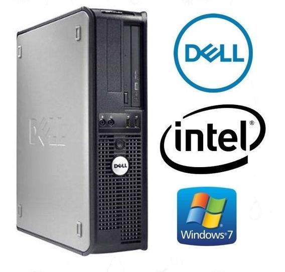 Cpu Dell Optiplex 320 Dual Core Memoria 2gb Ddr2 Hd80gb W7