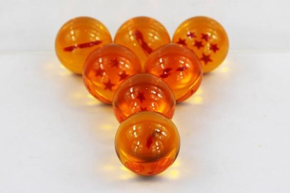 7 Esferas Do Dragão 4.5 Cm, Dragon Ball Gt, Envio Rápido