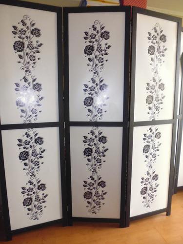 Imagen 1 de 12 de Biombos Nuevos Decorativos 1.60 Largo- 1.90 Alto - 3 Cuerpos