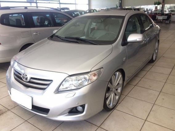 Toyota Corolla 1.8 Seg Prata 16v Flex 4p Aut. 2009