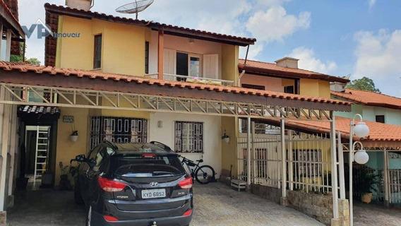 Sobrado Com 4 Dormitórios À Venda, 120 M² Por R$ 650.000 - Parque Assunção - Taboão Da Serra/sp - So0173