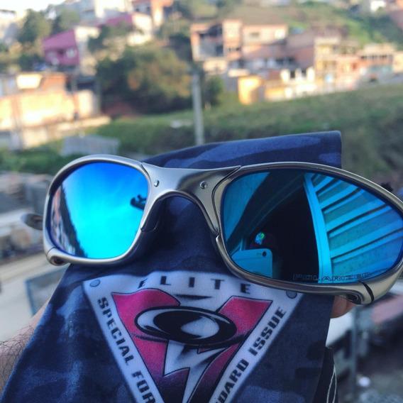 Óculos Oakley Juliet Plasma/titanium +camisa E Bag De Brinde
