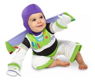 Disfraz Buzz Ligthyear Bebé Toy Story Disney Store 12/18 M.