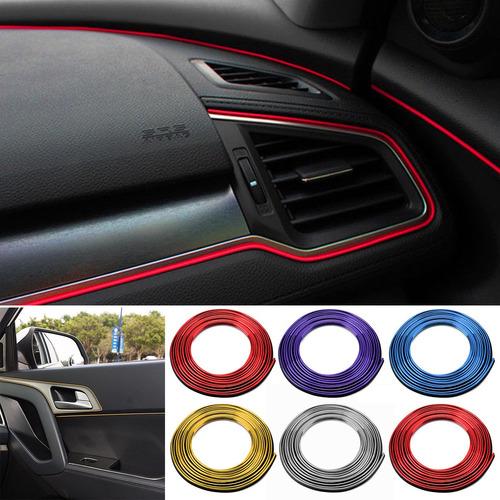 5 M Carro Diy Decoração Interior Porta Tira Moldagem Styling