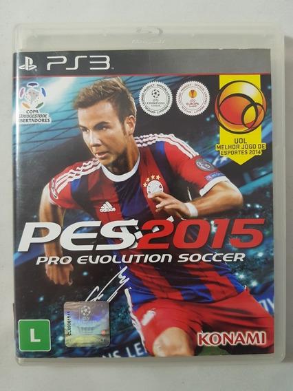 Pes 2015 Em Português Pro Evolution Soccer Ps3 Mídia Física