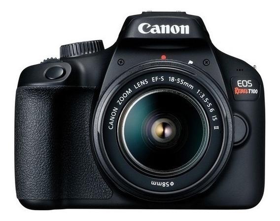 Cámara Digital Canon Eos Rebel T100 18-55 -reemplazo Eos T6