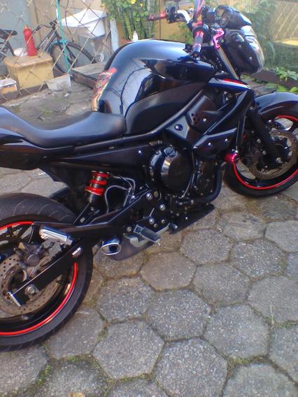 Yamaha Xj6 N Moto Muito Cuidada Sem Detalhe