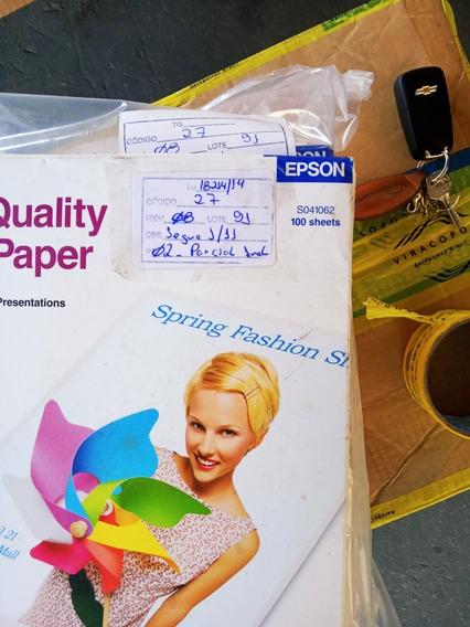 Papel Matte Especial Epson Carta 102g S041062 8,5 X 11