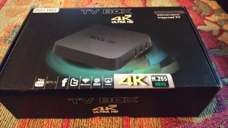 Tv Box - Convertidor De Smart Tv - Pc
