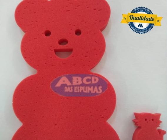 Espuma De Banheira Bebe Anti Derrapante Urso Lilas + Brinde