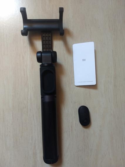 Tripé Pau De Selfie Original Xiaomi Bluetooth Android & Ios