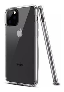 Funda Transparent iPhone 11 Pro 11 Pro Max + Vidrio Curvo 5d