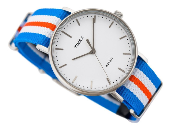 Timex Tw2p91100 Reloj Caballero, Analogo, Por Kronocity