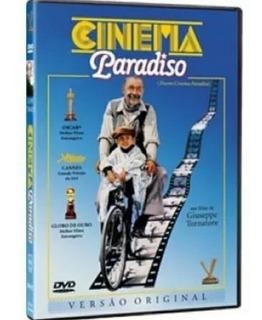 Dvd Cinema Paradiso Original Novo