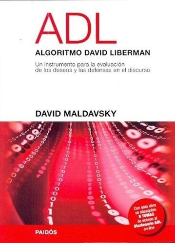 Imagen 1 de 2 de Libro - Adl Algoritmo David Liberman - Maldavsky, David