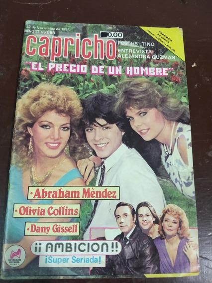 Olivia Collins Y Abraham Mendez En Fotonovela Capricho