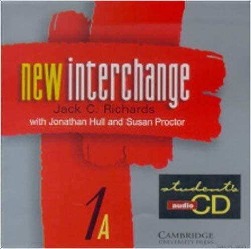 Cd New Interchange 1a Students Áudio Cd
