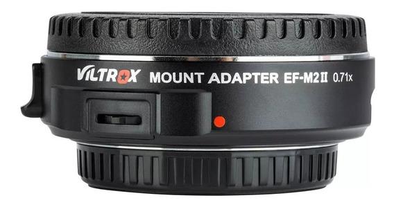 Adaptador Viltrox Ef-m2 Mark Il Speedbooster Para Gh4 Gh5 Bm
