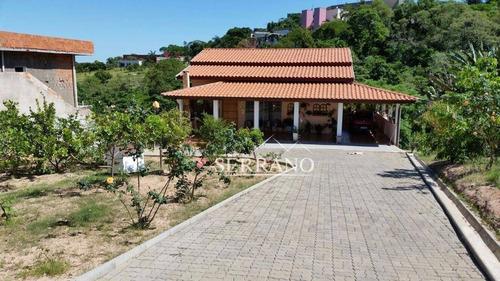 Imagem 1 de 4 de Chácara Com 3 Dormitórios À Venda, 1530 M² Por R$ 800.000,00 - Mirantes Das Estrelas - Vinhedo/sp - Ch0004