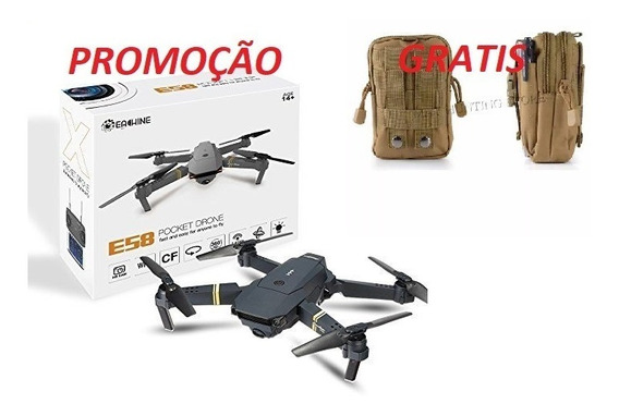 Drone Eachine E58 -2mp - Wifi Fpv Camera Hd + Brinde Prot En