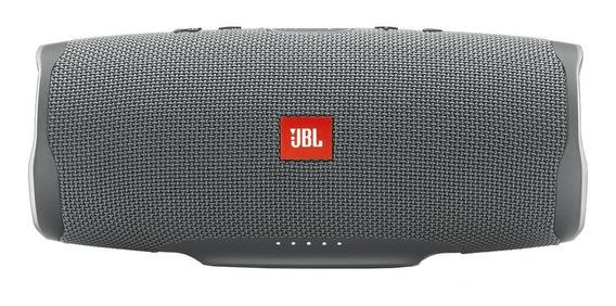 Caixa de som JBL Charge 4 portátil sem fio Grey